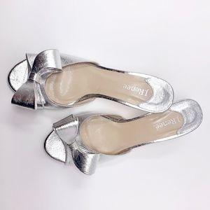 Metallic Silver women's shoes